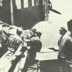 Evacuation of Axis wounded in a Ju 52