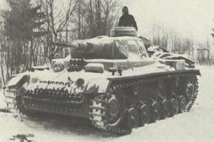 Panzer 3J with 5cm KwK L/42 gun