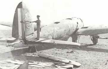 German Heinkel He 111 bomber of Sonderkommando (special unit) Junck
