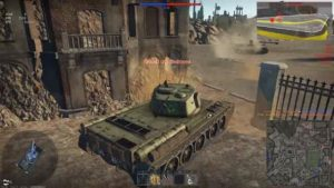 knocking out Tiger in War Thunder
