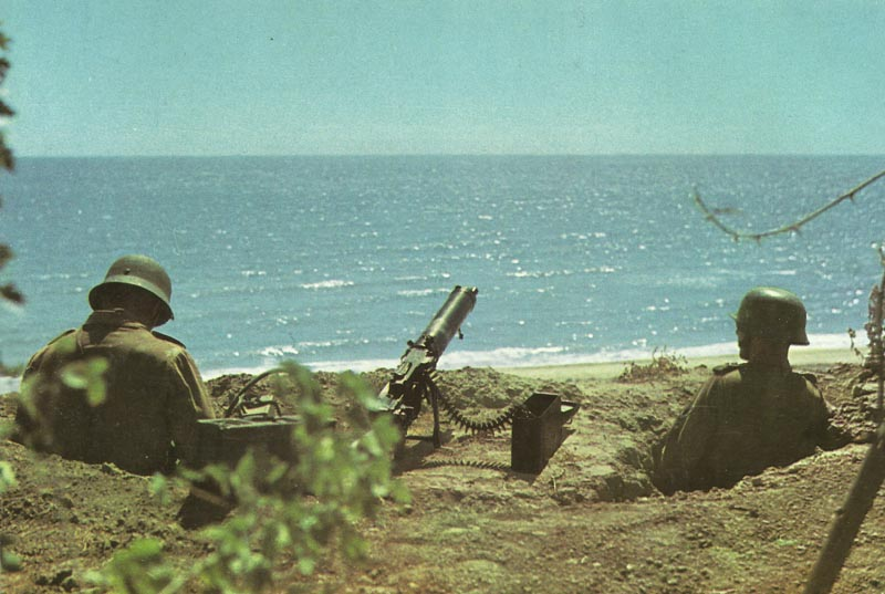 German coastal defenses on Crete