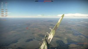 Pe-8 flying to base in War Thunder
