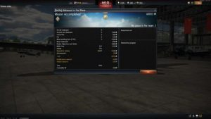 victory screen War Thunder