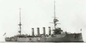 Armoured cruiser 'HMS Hampshire'