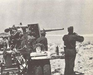 German 88-mm-gun Operation Battleaxe