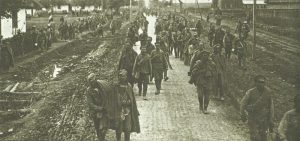 Russian prisoners captured by the Germans during the Brusilov Offensive