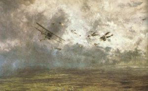 Dogfights over the Western Front.