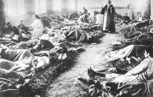 Russian field hospital