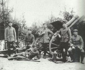 German heavy field howitzer 'schwere Feldhaubitze 13'