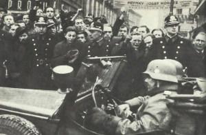 German troops enter  Prague