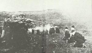 execution of Serbian guerrillas