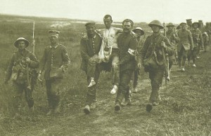 German PoWs captured on this third day of the British Somme offensive