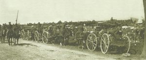British supply  convoy Somme