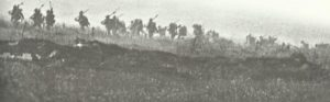 British infantry attack
