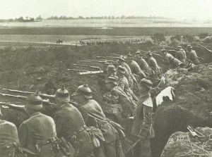 German troops in a maneuver
