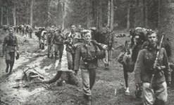 German infantry advancing