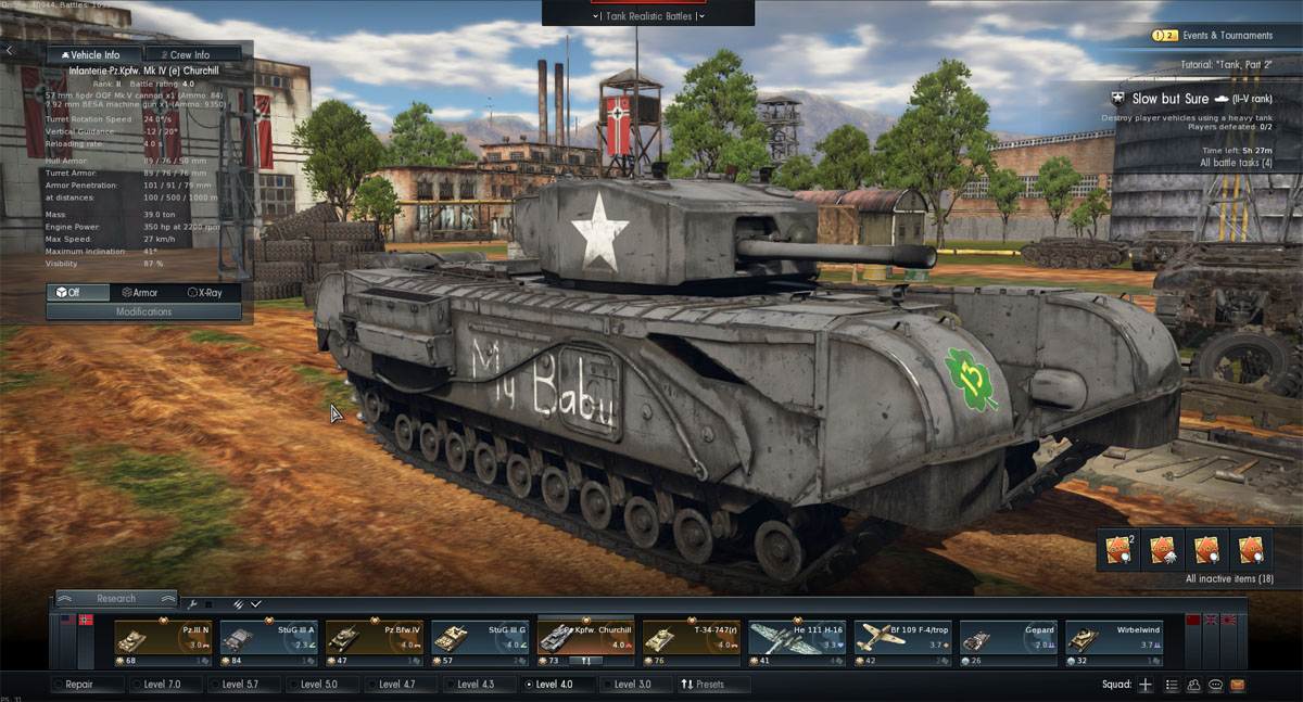 German BR 4 line in War Thunder > WW2 Weapons