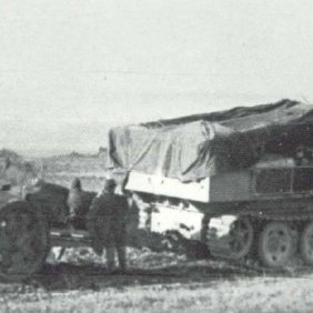 88mm Pak 43 on SdKfz 10