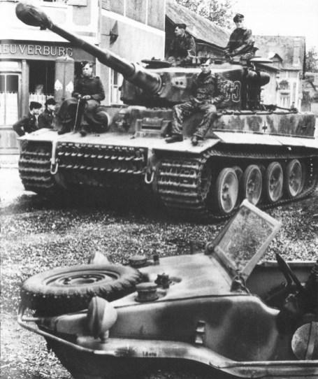 Tiger at Normandy