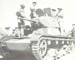 Russian T-26 in Iran