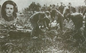 SL11's wreckage