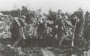 Italian infantry during an assault