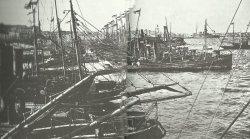 Ontranto barrage across the Adriatic