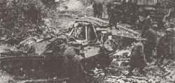 StuG assault gun in the mud