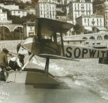 British Sopwith Tabloid floatplane