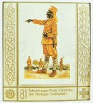 black sergeant of the German Schutztruppe