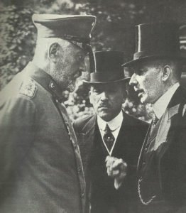 Reich Chancellor  Bethmann-Hollweg