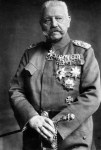 Hindenburg with Grand Cross of the Iron Cross.