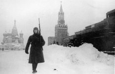 Guard in front of the Kremlin