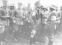 commander of the German Fifth Army at Verdun, Crown Prince Wilhelm