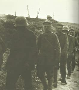 Germans captured at Verdun