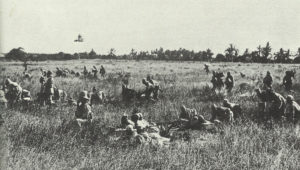 German soldiers in East Africa are attacking British troops.
