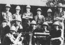 South African machine gun detachment