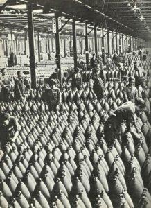 British ammunition factory
