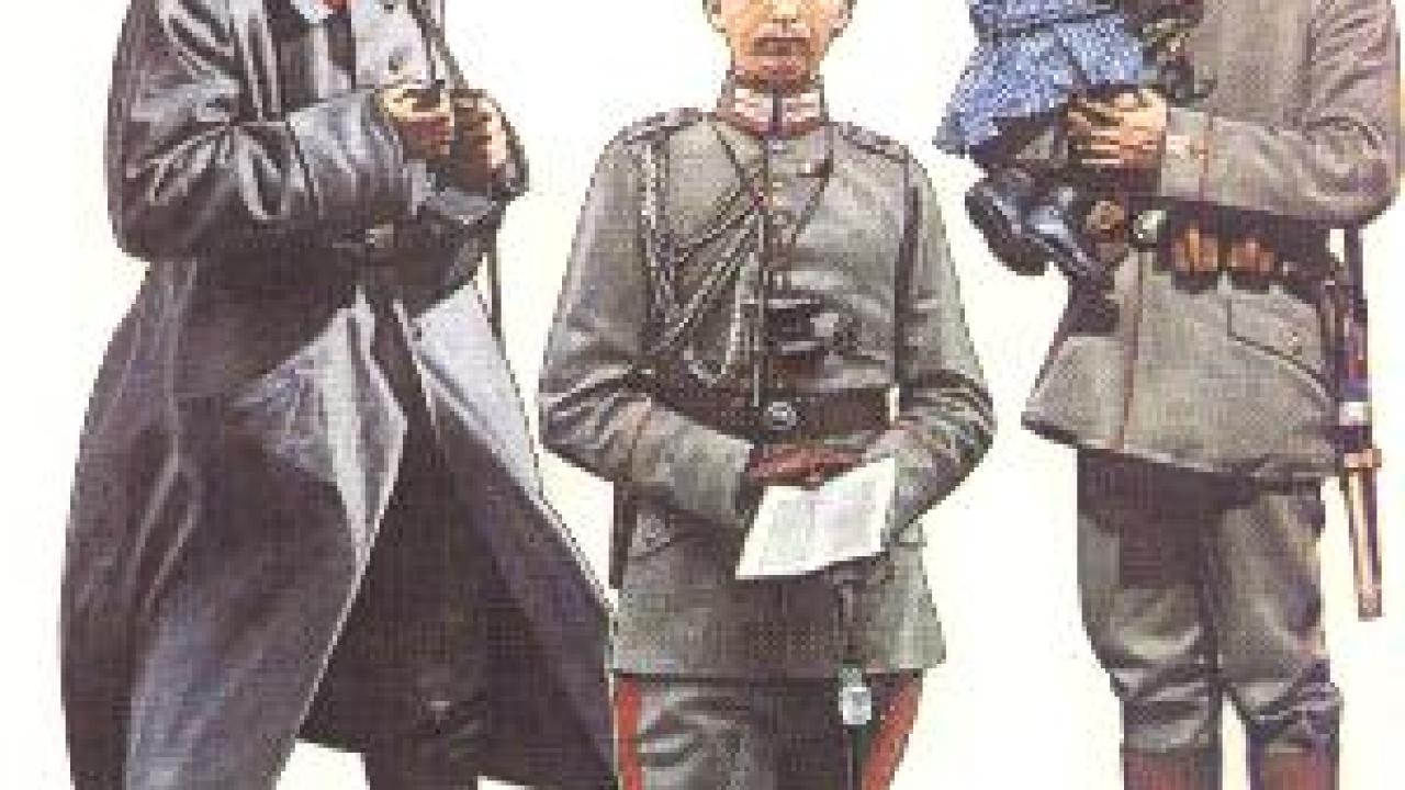 German uniforms World War One > WW2 Weapons