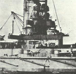 Command tower of a Kaiser class battleship