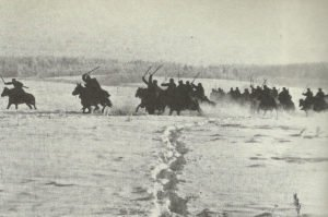 Charge of Russian cavalry