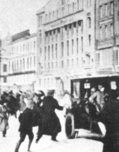 Food riots in Petrograd
