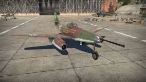 Jet fighter Messerschmitt Me 262 A-1/U4