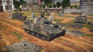 Medium battle tank Panther II