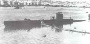submarine HMS 'Ultimatum'