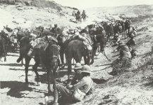 British cavalry close to Jebel Hamrin