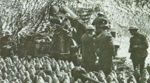 British 12-inch BL Siege Howitzer