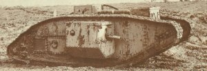 British Mark IV tank