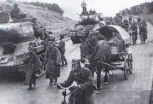 Polish troops in April 1945
