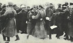 fraternities between German and Russian soldiers